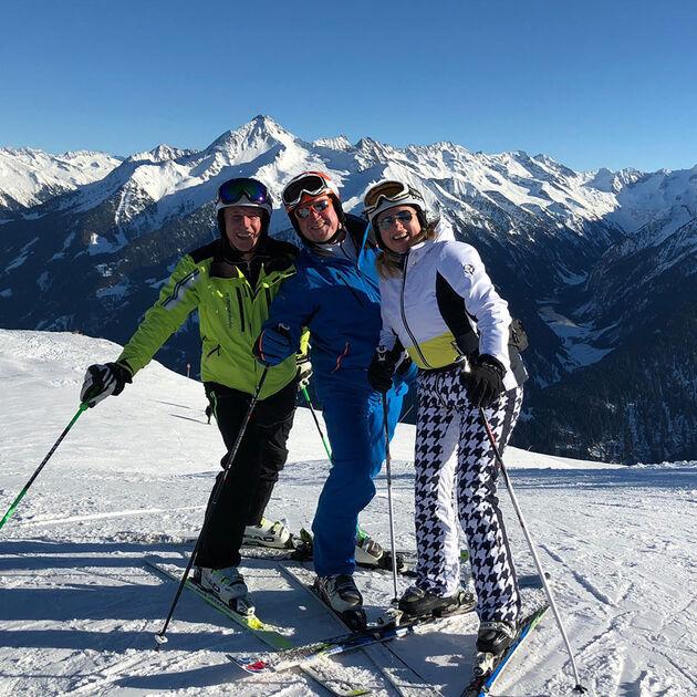 Wintersafari beim Olympiasieger
